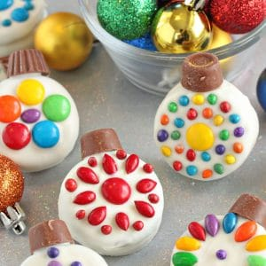 Oreo Cookie Christmas Ornaments | From SugarHero.com