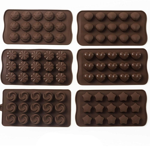 Silicone Candy Molds | From SugarHero.com