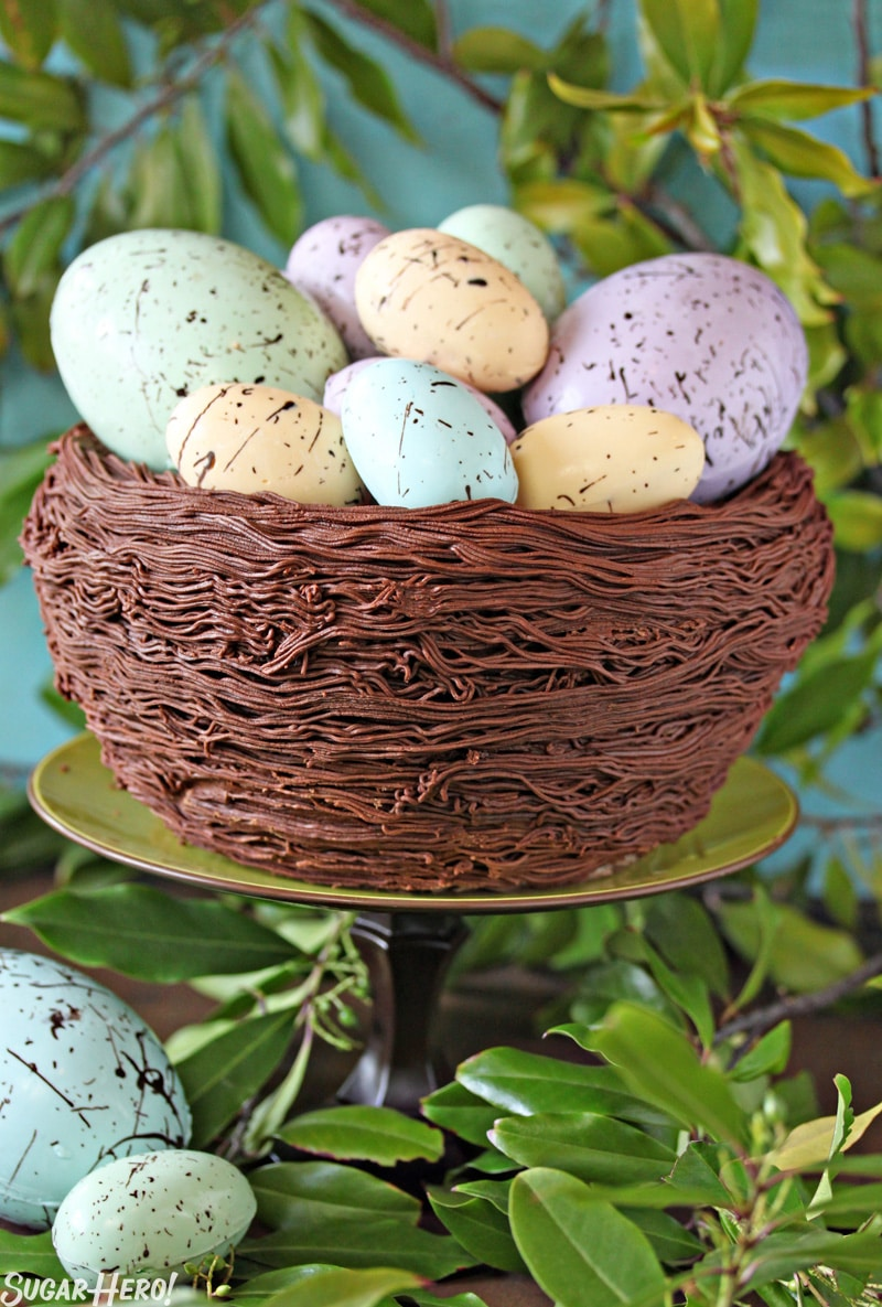 Easter Nest Cake - SugarHero