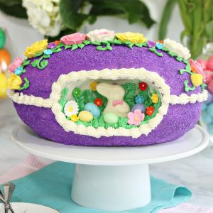 Sugar Easter Egg Cake