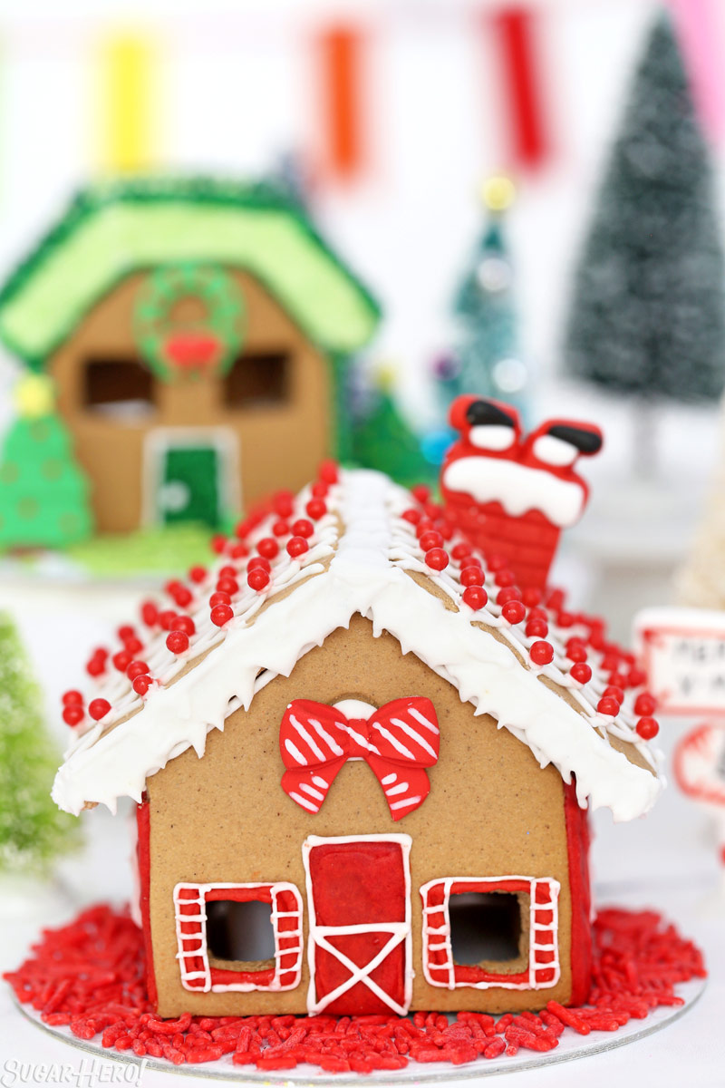 Rainbow Gingerbread House Village + Decorating Ideas , SugarHero