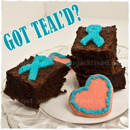 Ovarian Cancer Awareness Treats