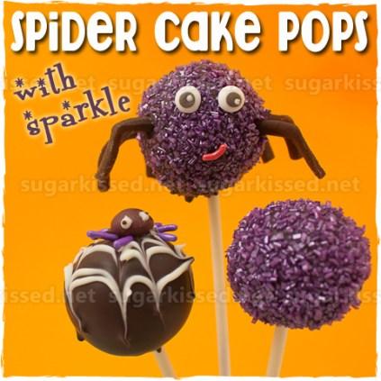 Spider Cake Pops by sugarkissed.net