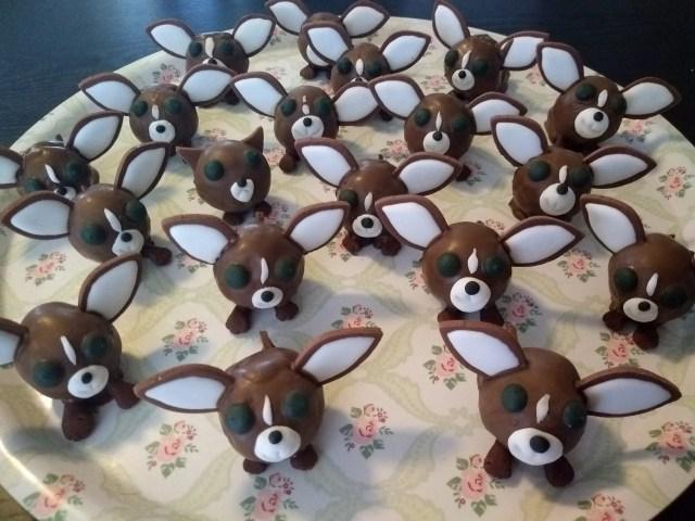 chihuahua cake balls imposter