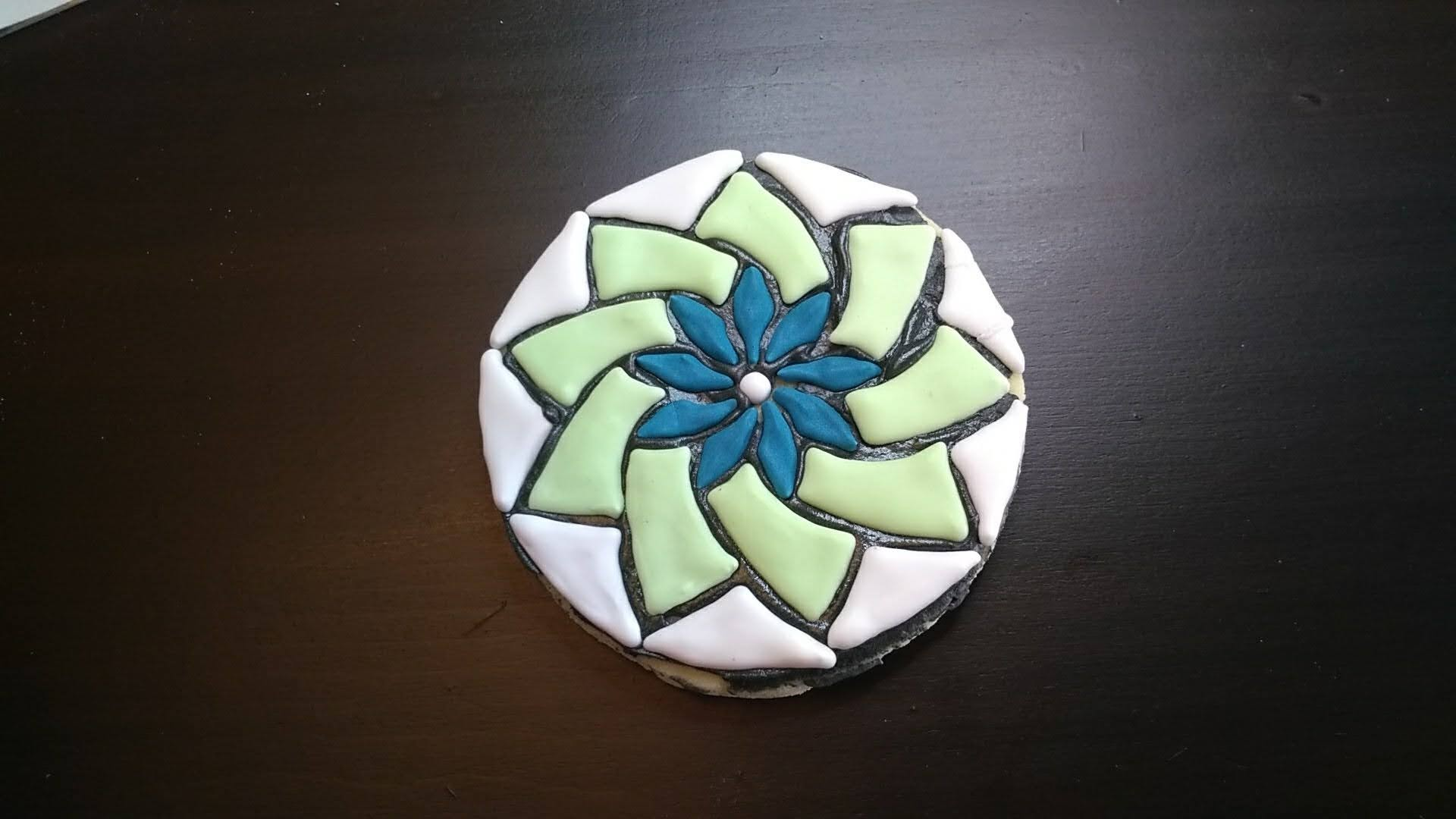 mosaic cookie