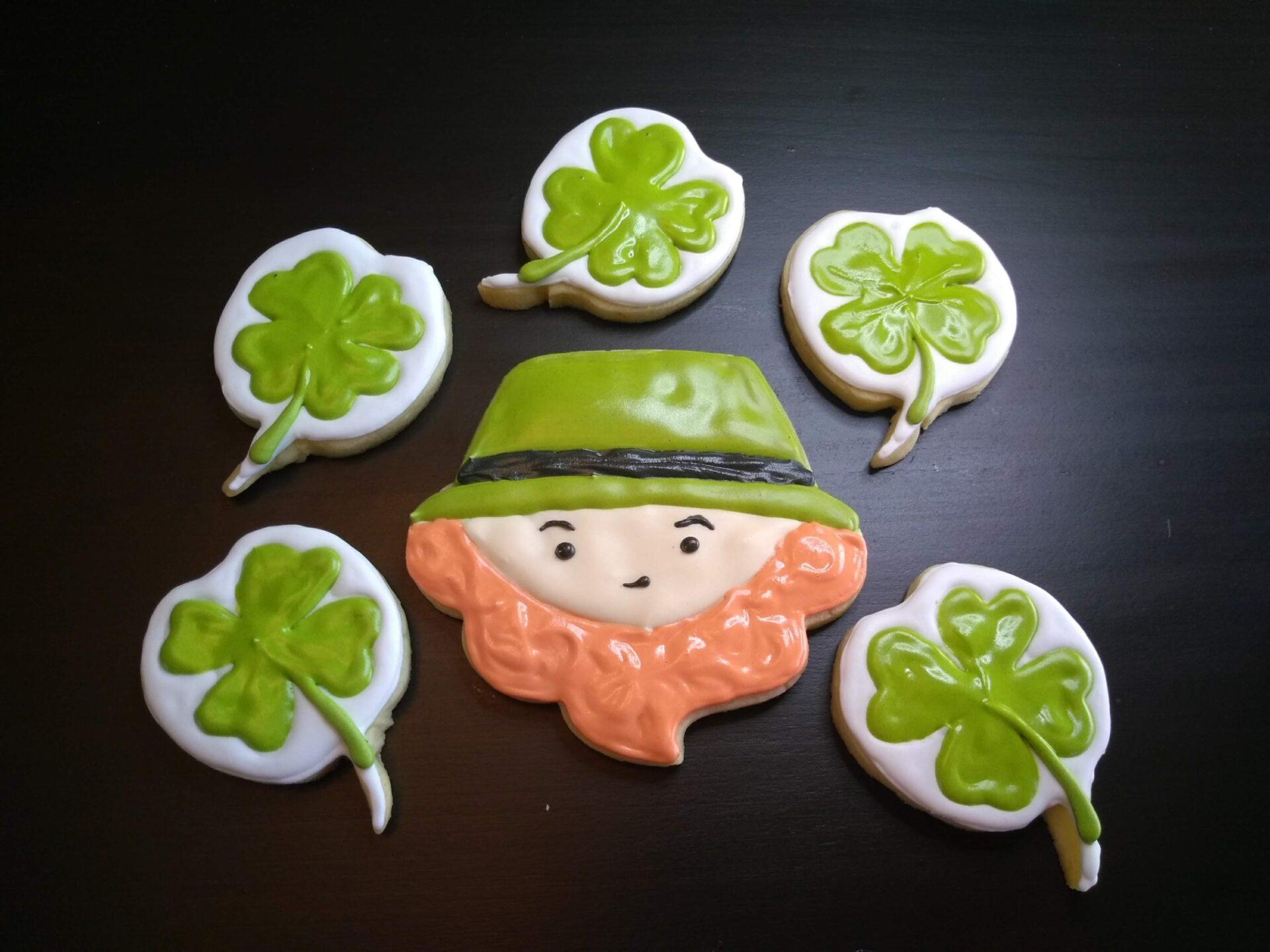 leprechaun st patrick's day cookies