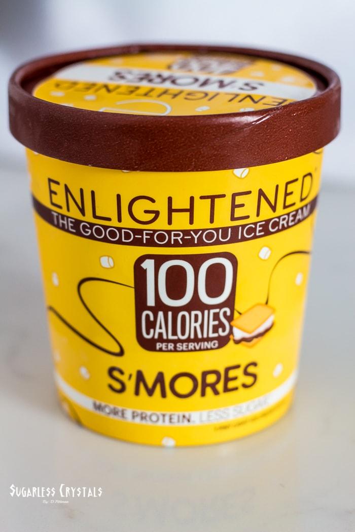 Enlightened Ice Cream Smores