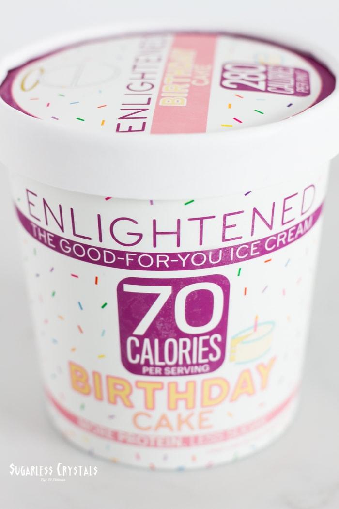 enlightened birthday cake