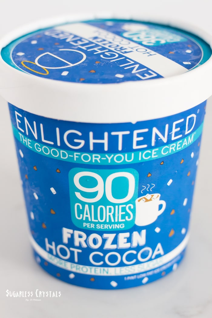 enlightened frozen hot cocoa