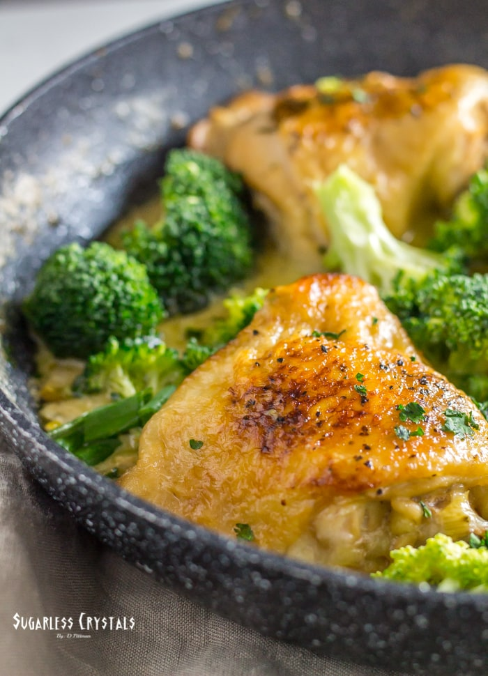 low carb chicken and broccoli