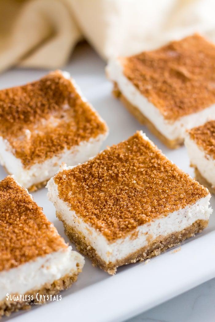 keto cheesecake no bake snickerdoodle version