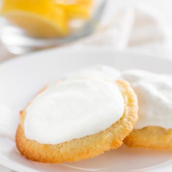 Lemon Keto Cookies(Gluten Free, Low Carb)