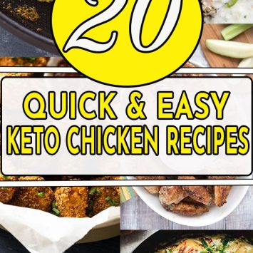 20 Quick and Easy Keto Chicken Recipes