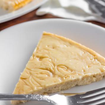 Crustless Maple Keto Cheesecake