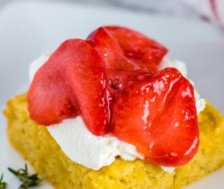 Low Carb Strawberry Shortcake (Keto, Sugar Free, Grain Free)