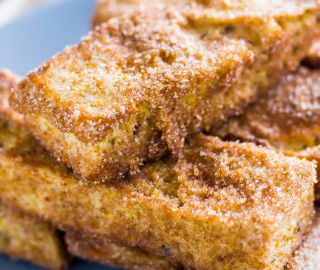 Keto French Toast Sticks (Low Carb, Grain Free)
