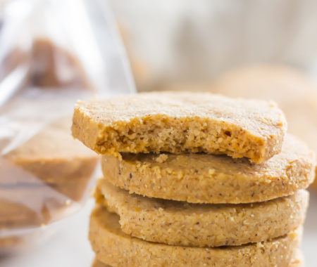 Keto Shortbread Cookies with Cookie Butter (Low Carb, Gluten Free, Sugar Free)