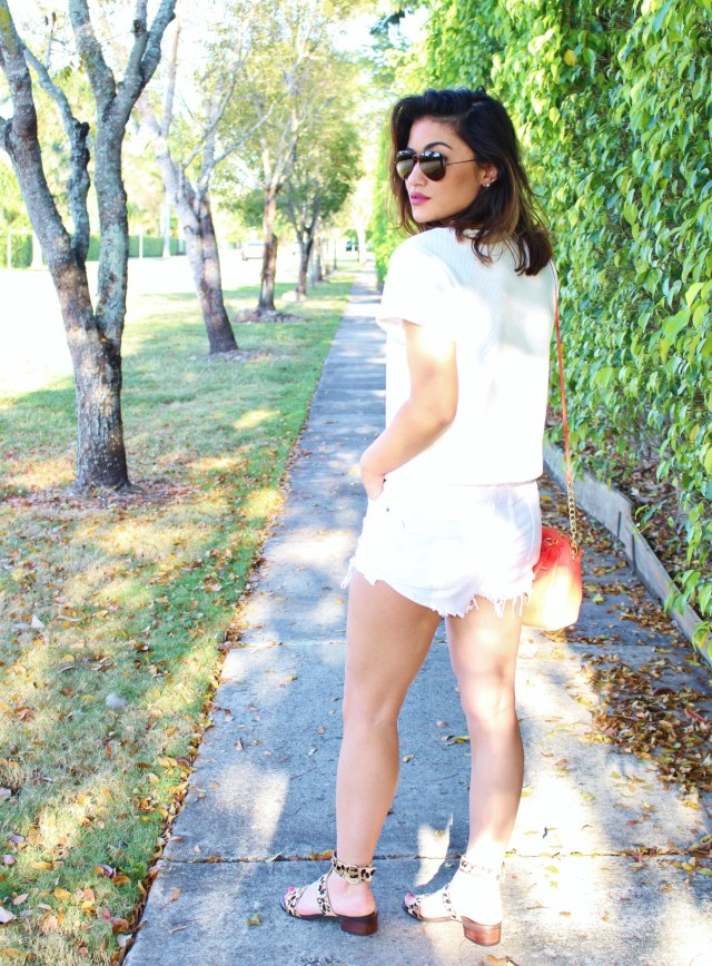 all white outfit for Spring