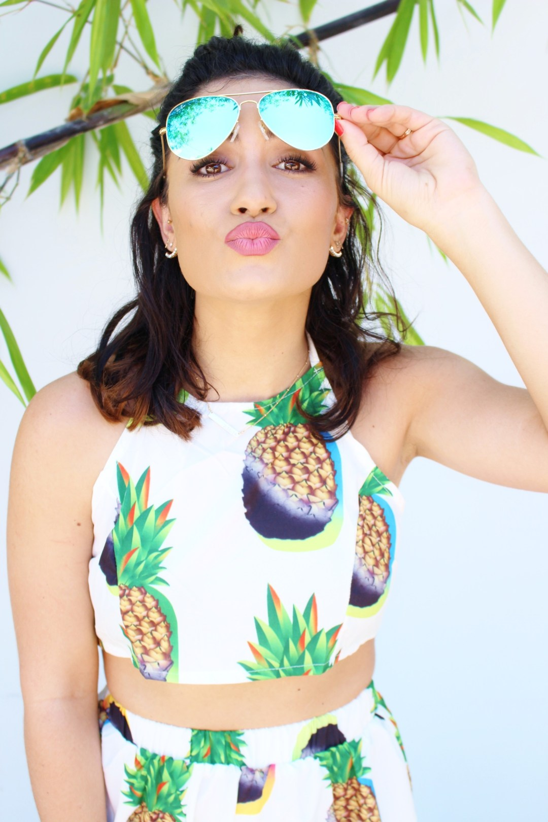 pineapple set outfit