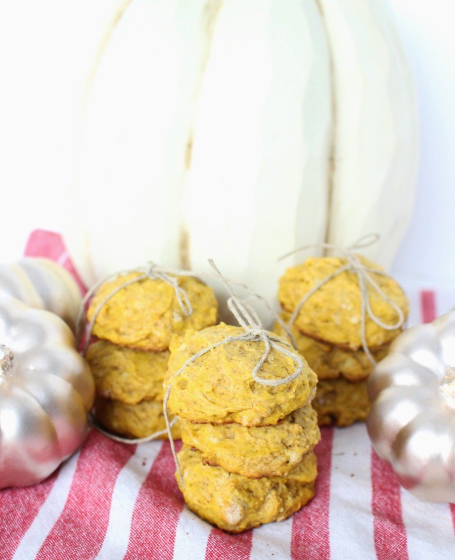 pumpkin scone cookies 037
