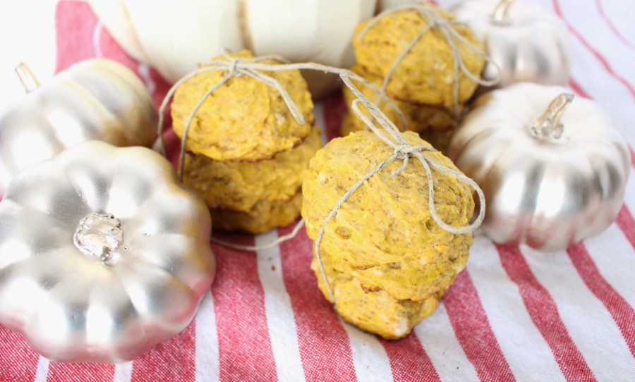 pumpkin scone cookies 040