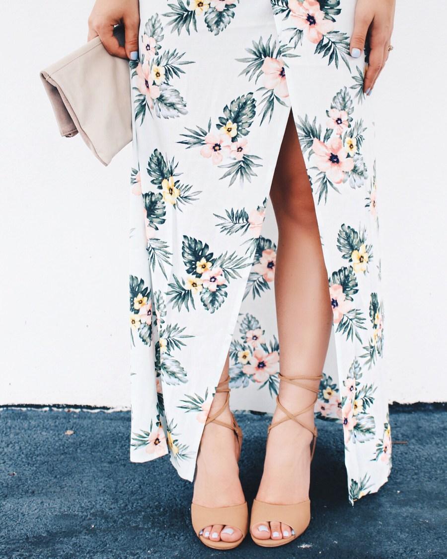Tropical Maxi Skirt