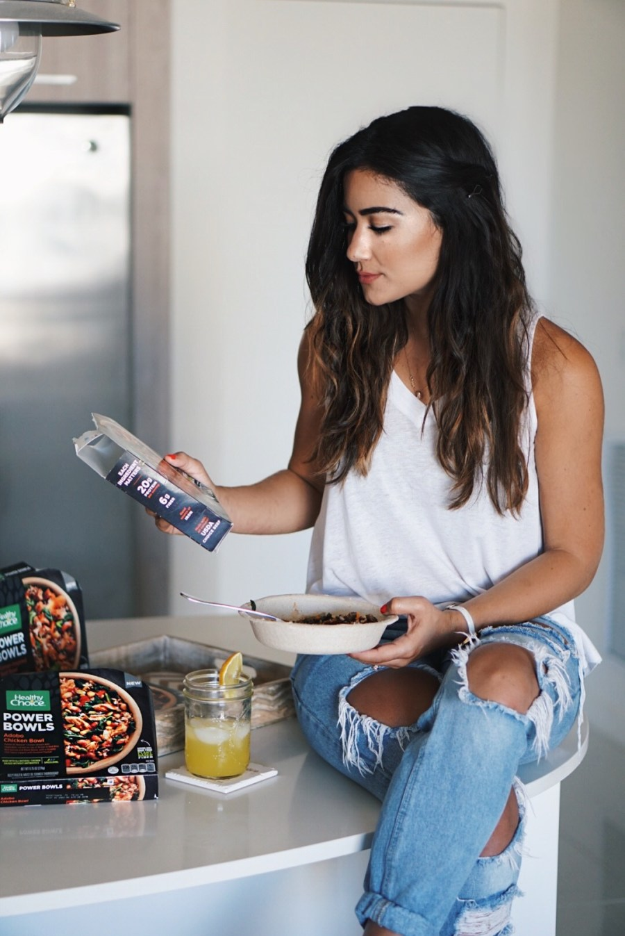 Sugar Love Chic blogger talks about Healthy Choice Bowls for Womens Health Month