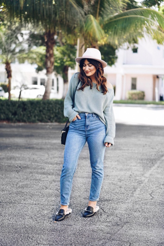 5ab3ed9e8cc Sweater and Jeans Winter Outfit