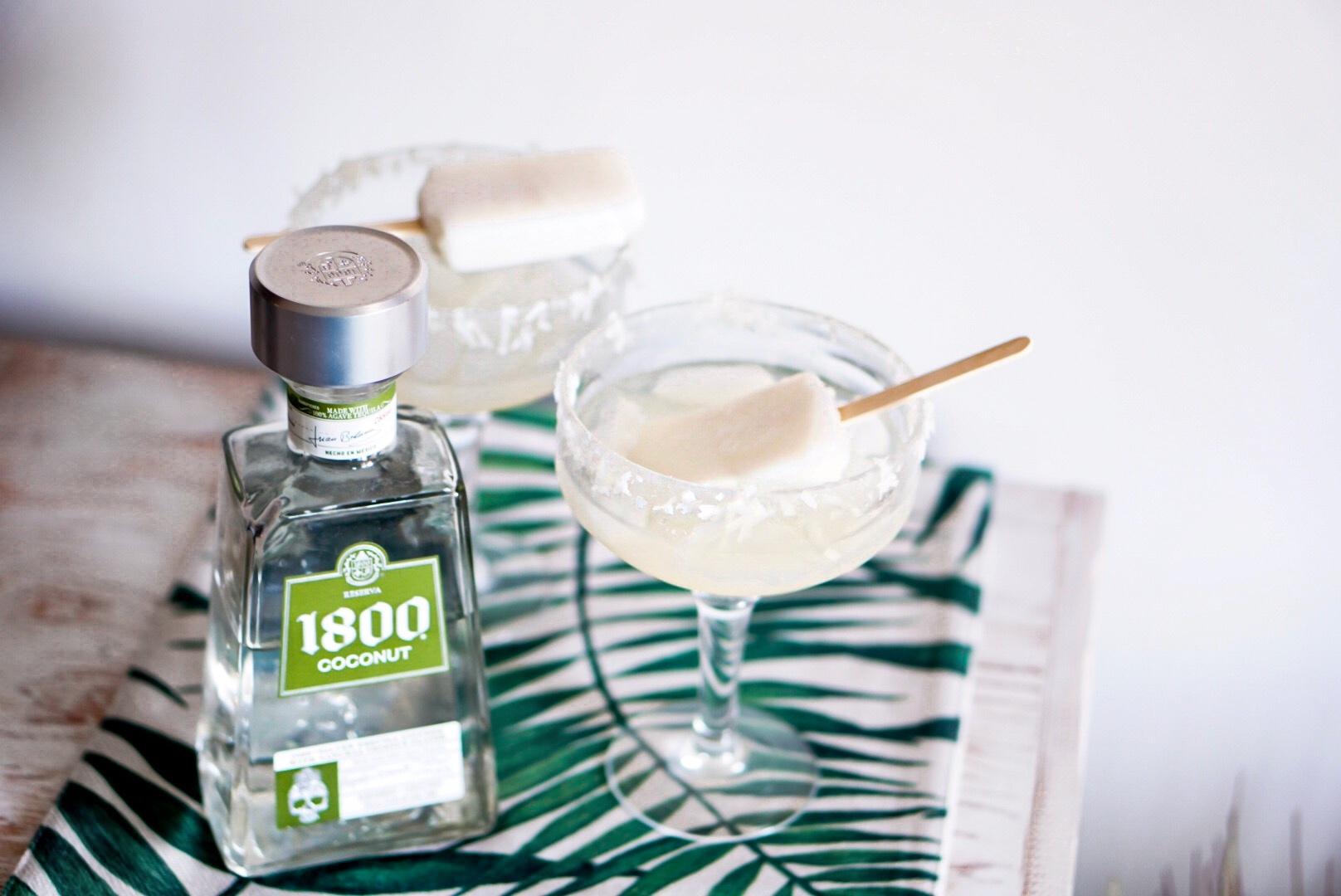 Coconut Popsicle Margarita Recipe Sugar Love Chic
