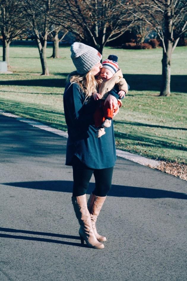 Sarah Harmsen - SUGAR MAPLE notes Motherhood Blogger