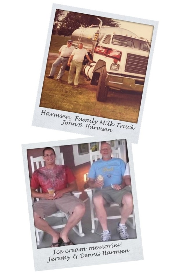 Harmsen Family Memories - Wisconsin Milk Truck and Ice Cream Memories