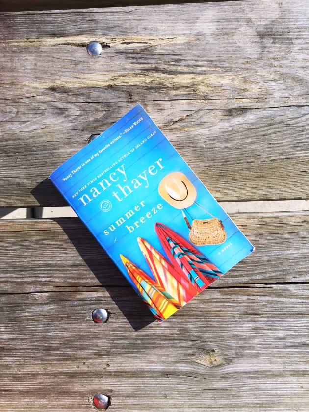 SUGAR MAPLE book club -Summer Breeze by Nancy Thayer - A book club for busy moms (1)