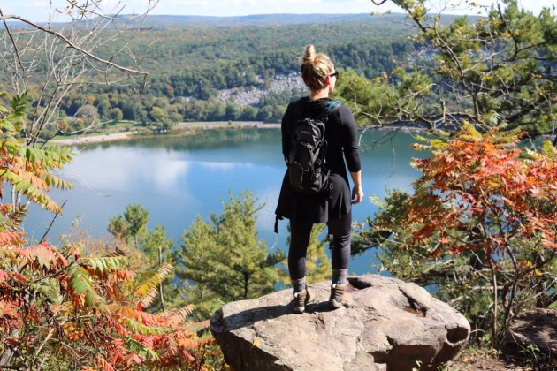 Devil's Lake State Park - Go Comfy with Cuddl Duds Leggings