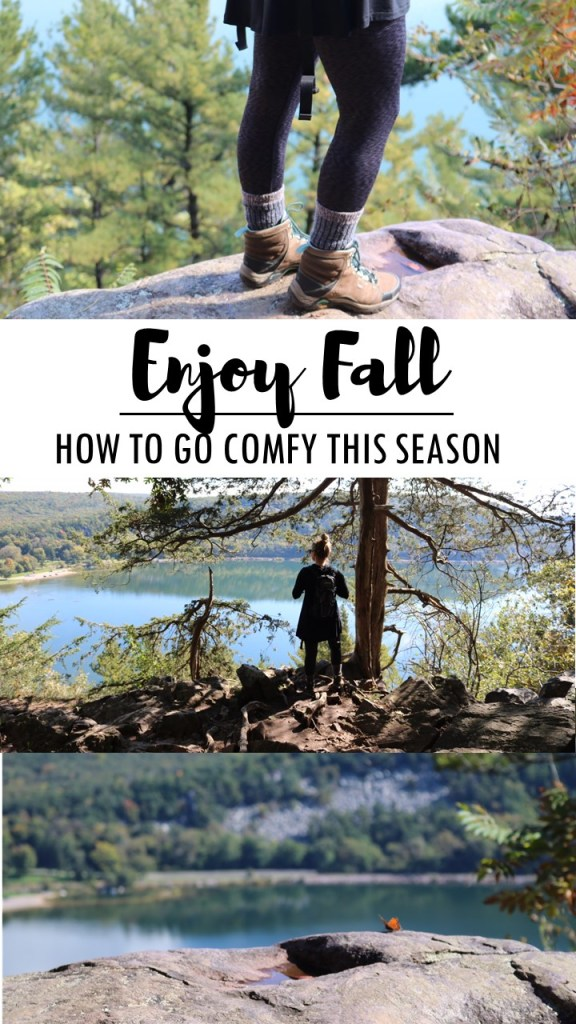 How to Go Comfy this Fall with Cuddl Duds soft layers at JCPenny