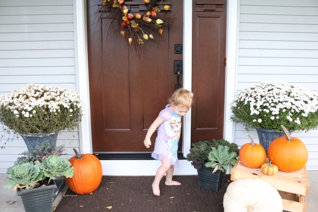 Fall Front Porch Inspiration | Thanksgiving