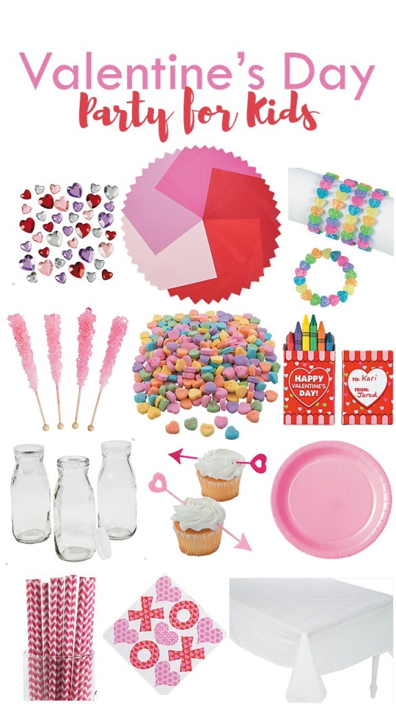 Valentine's Day Party Supplies for Kids from Oriental Trading Company