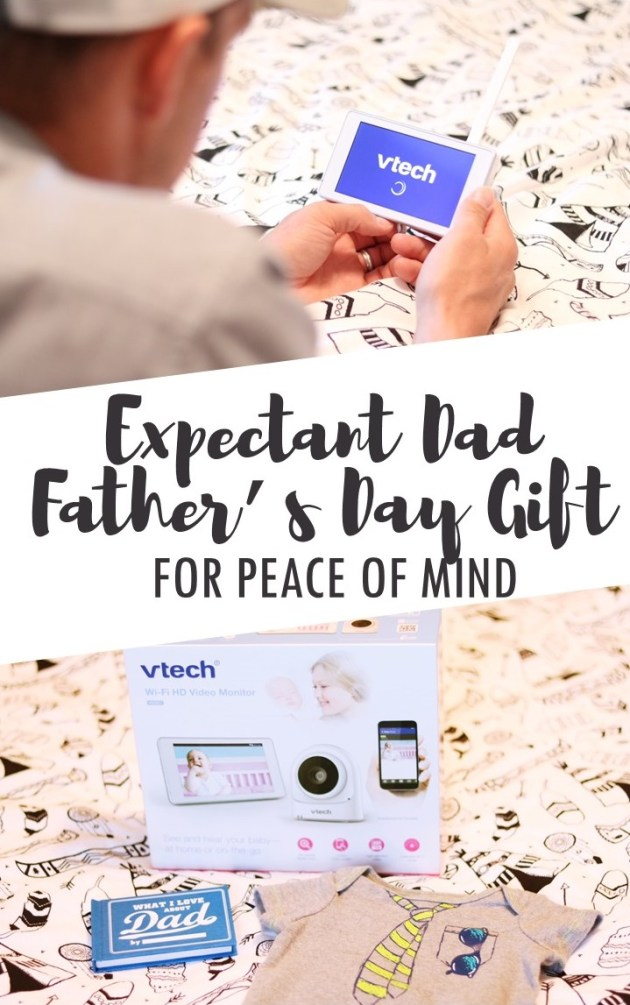 Expectant Dad Father's Day Gift for Peace of Mind - VTech VM981 Expandable HD Video Baby Monitor with Wi-Fi Camera from Amazon