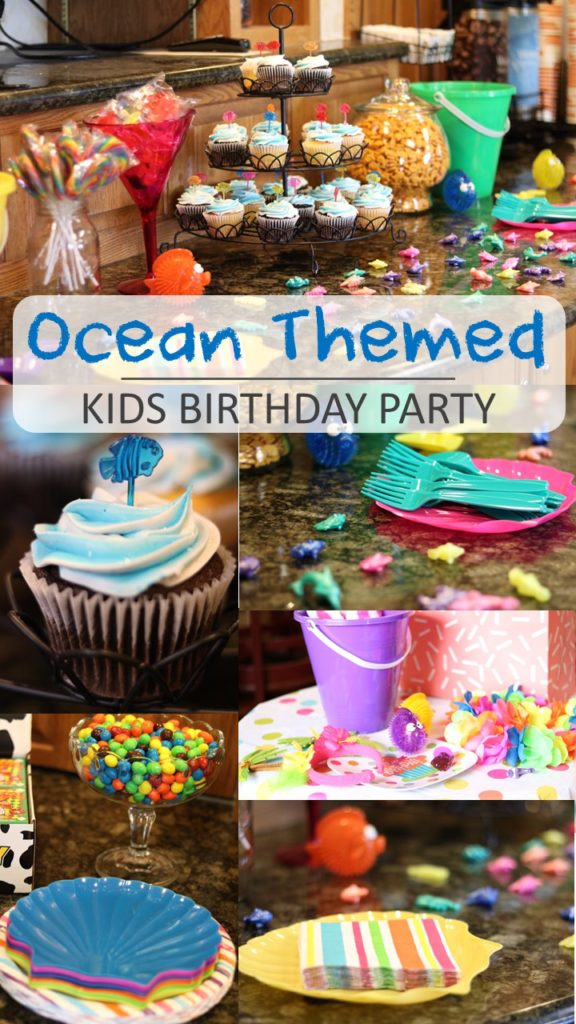 Ocean Themed Kids Birthday Party Ideas