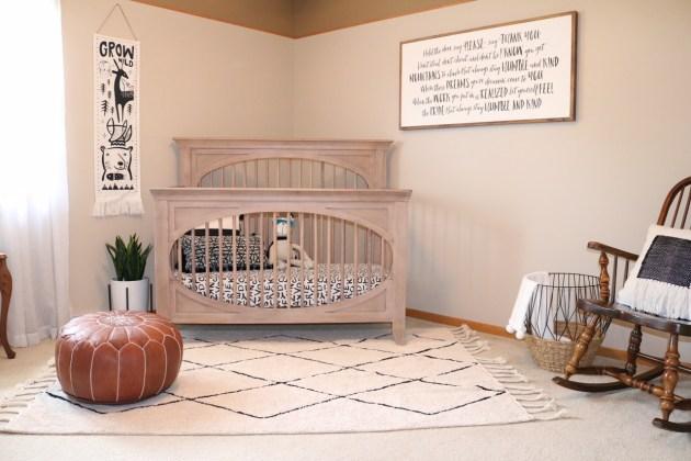 Modern Neutral Nursery Reveal