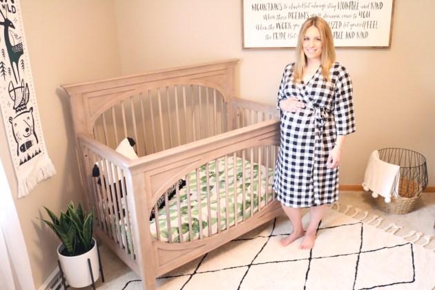 Modern Neutral Nursery Reveal - 37 Weeks Pregnant