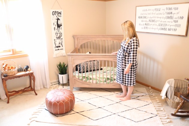 Modern Neutral Nursery Reveal Lorena Canals Rug