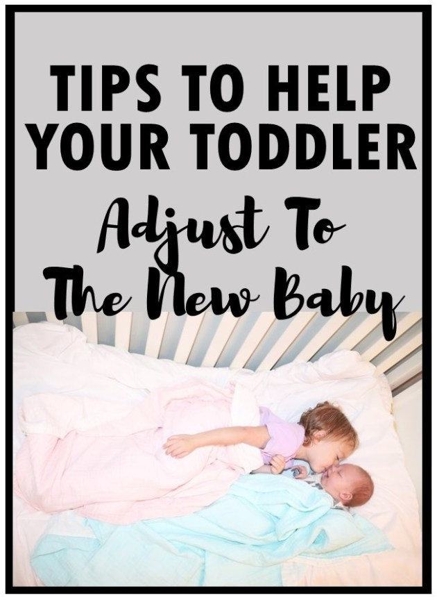 Tips to Help Your Toddler or Older Child Adjust to The New Baby