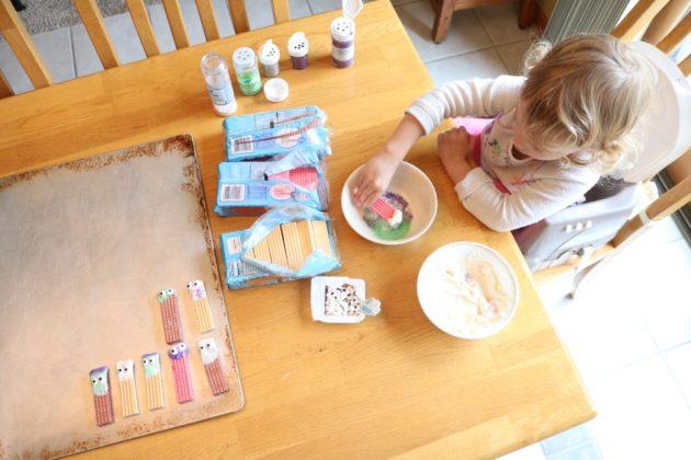 Halloween Monster Wafer Cookies A Fun Fall Recipe For Kids Sugar