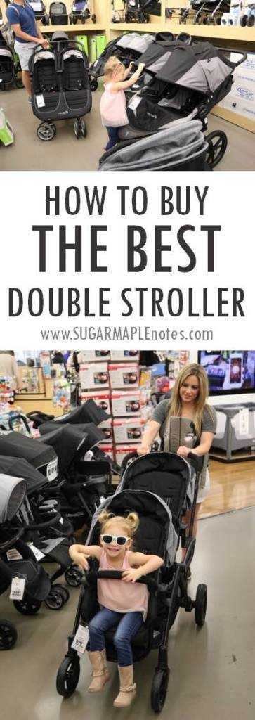 How To Buy The Best Double Stroller
