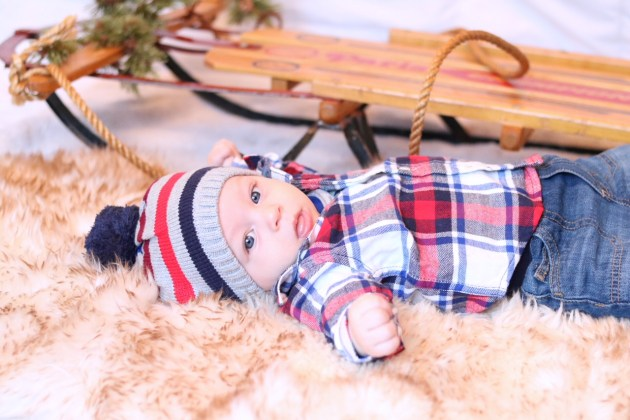 Holiday Traditions - THE BEST TIME TO BE A KID with Gymboree baby boy outfit