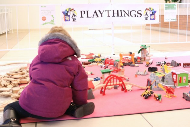Last Minute Holiday Shopping at Hilldale - Playthings and Christmas
