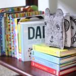 Levi S Nursery Reveal Modern Black And White Nursery Decor Bookshelf Sugar Maple Notes