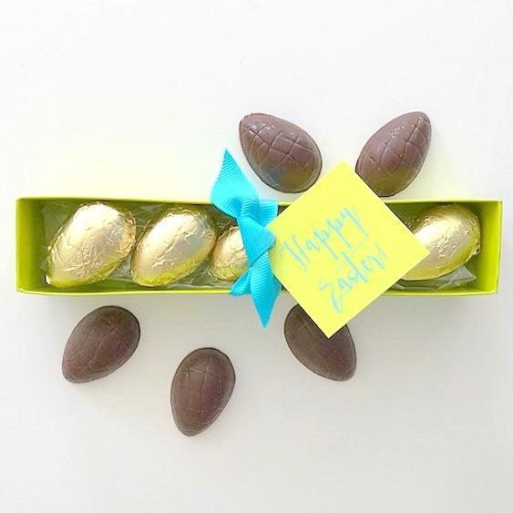 Bittersweet Chocolate Easter Eggs