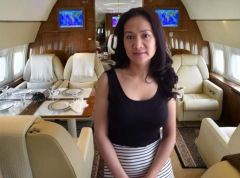 This Sugar Mummy In Private Jet Will Call You Back - Are You Interested?
