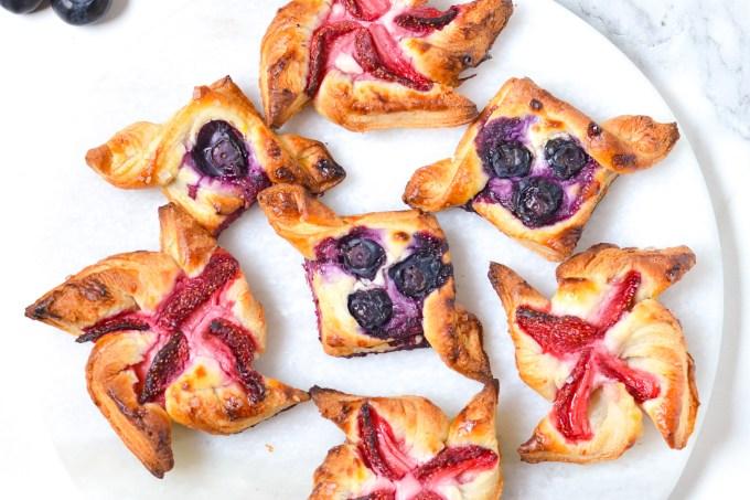 Mini Puff Pastry Tarts